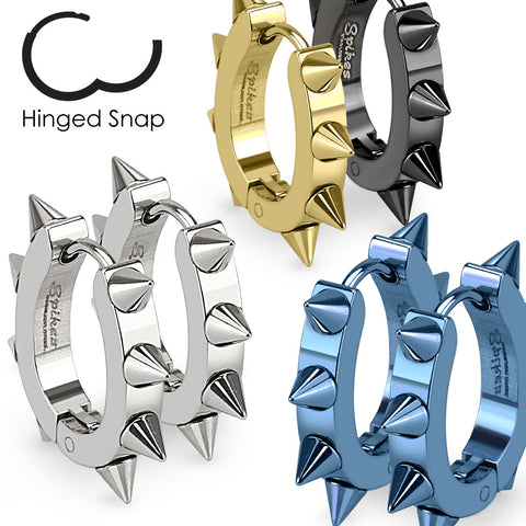 Spiked Earrings - Unleashed Jewelry