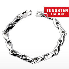 Tungsten Pyramid Link - Unleashed Jewelry