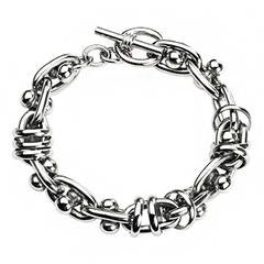 Ball and Chain bracelet - Unleashed Jewelry