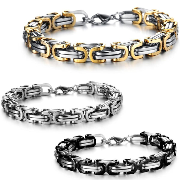 Russian- Black and Stainless - Unleashed Jewelry