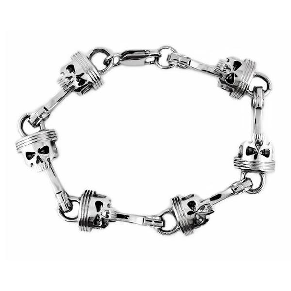 Pistons Stainless steel bracelet - Unleashed Jewelry