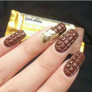 For those of you that bite your nails #Nails #Chocolate #Love