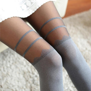 High Knee Pantyhose - Cultured Lady