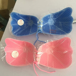 Front Closure Self-Adhesive Silicone Gel Invisible Push Up Strapless Backless Bra - Cultured Lady