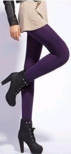 Thick Velvet Elastic Leggings - Cultured Lady