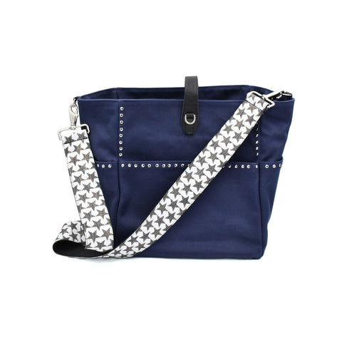Carrie'd NYC Bag - Navy