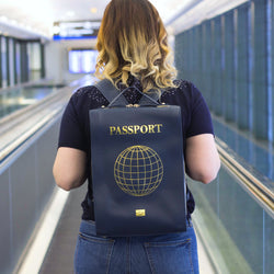 The STEPHY Passport Edition Leather Backpack (Pre-Order)