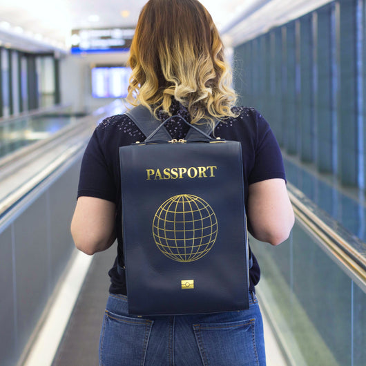 The STEPHY Passport Edition Leather Backpack