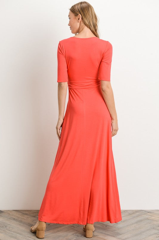 Ava Dress (coral)