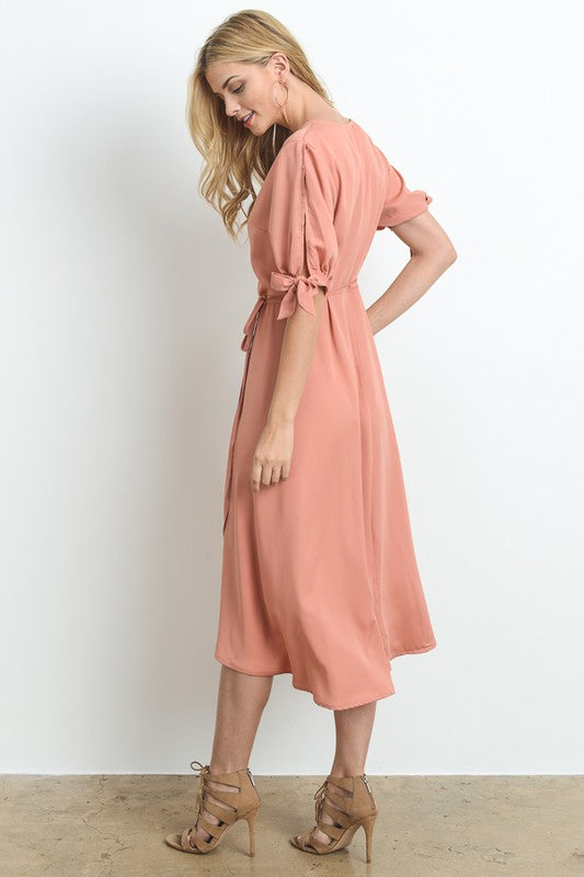 Hopeless Romantic Dress (peach)