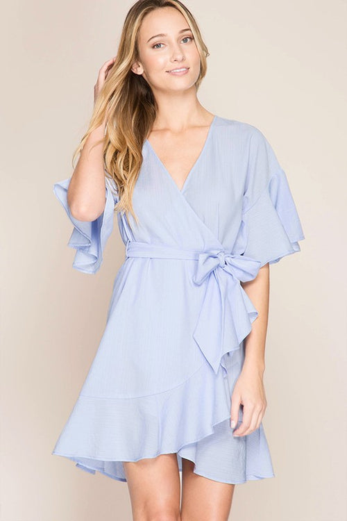 Belle Dress (light blue)