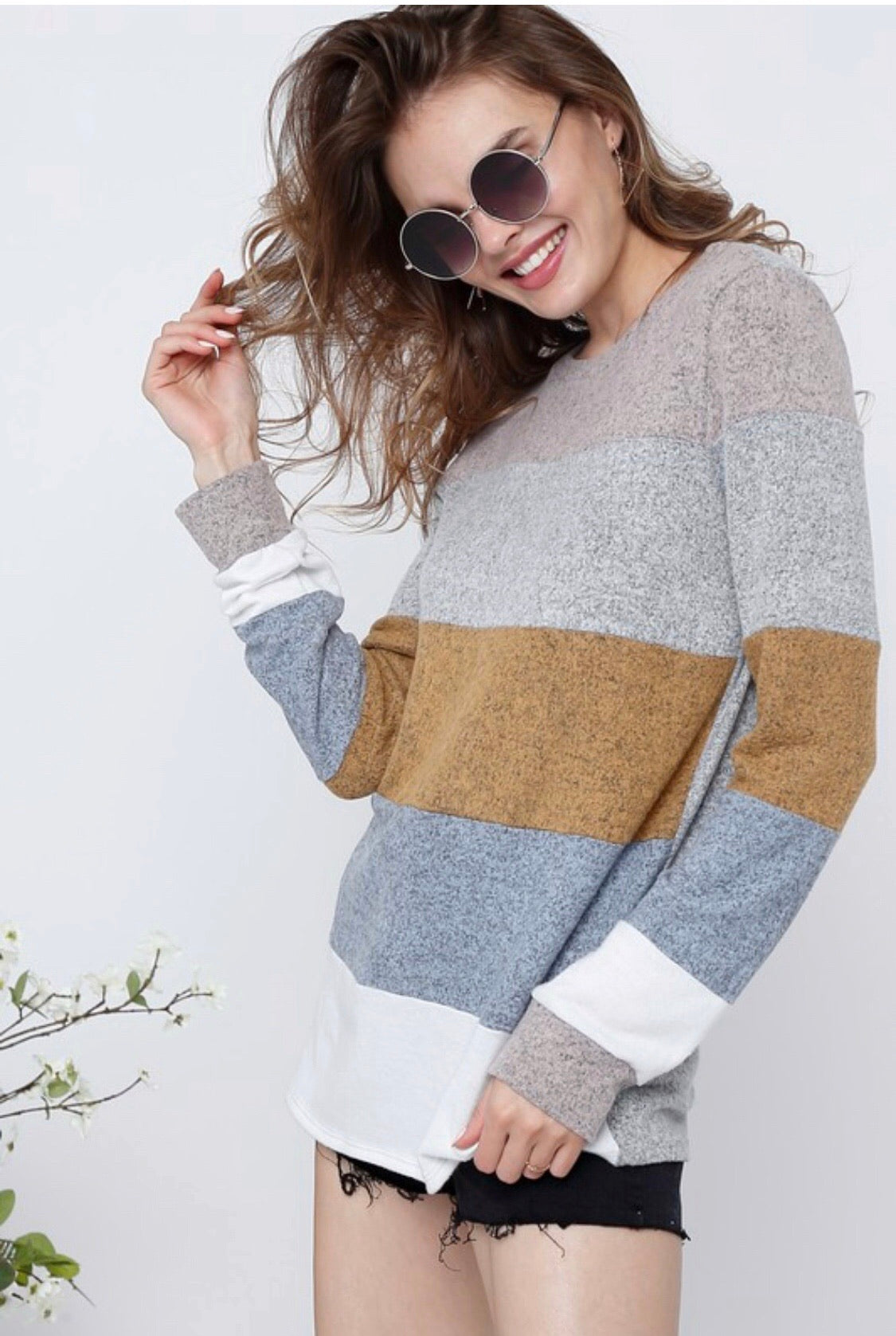 Multi Stripe Pullover