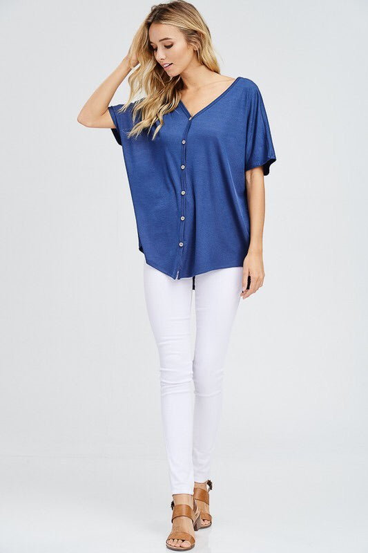 Whitney Top (navy)