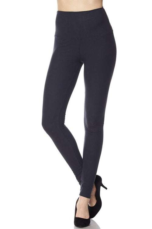Ultra Soft Brushed Leggings (charcoal gray)