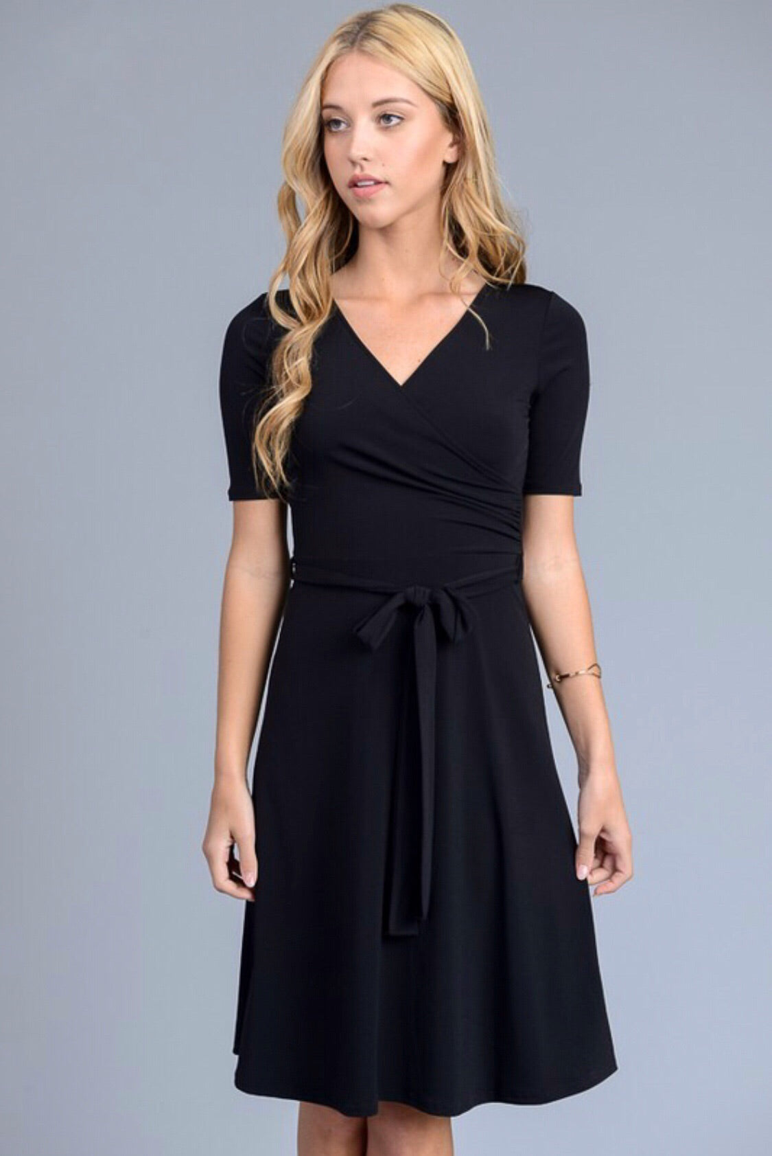 That's a Wrap LBD (black)
