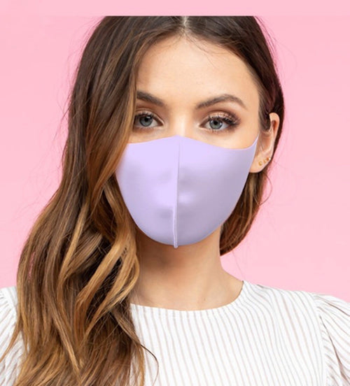 Antibacterial Mask, lavender (Adult)