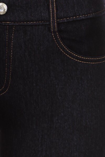 Dark Denim Jeggings (black)