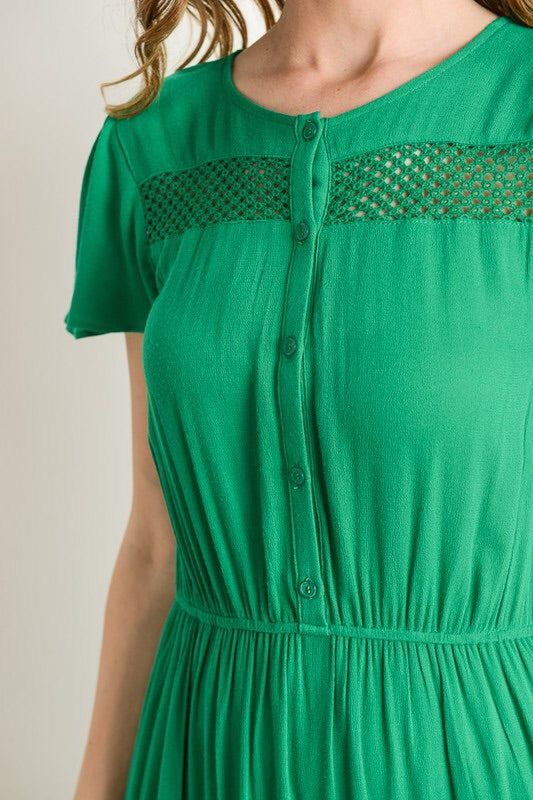 Audrey Dress (emerald)