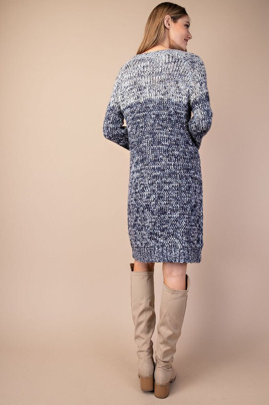 Willow Sweater Dress (navy)