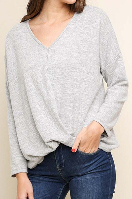 Heather Sweater (gray)