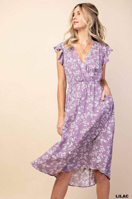 Delilah dress (lilac)