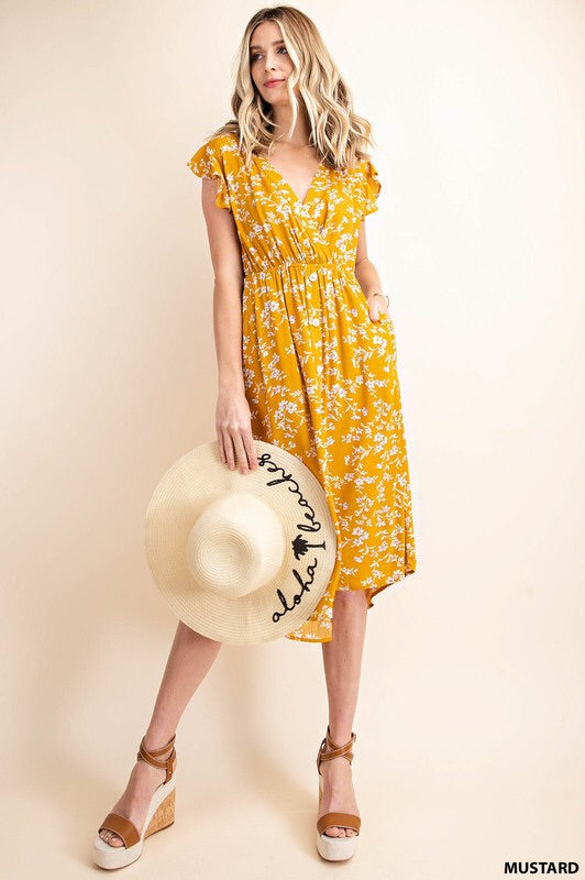 Delilah dress (honey)