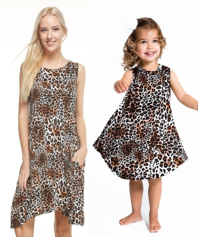Mommy and Me~Wild Child Dress