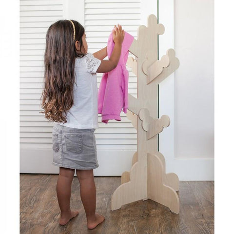 Little One's Clothes Tree - Natural
