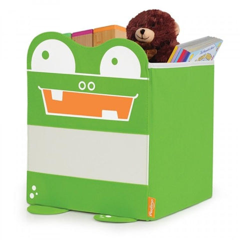 Mess Eaters: Cube Shelf Storage Bin - Green