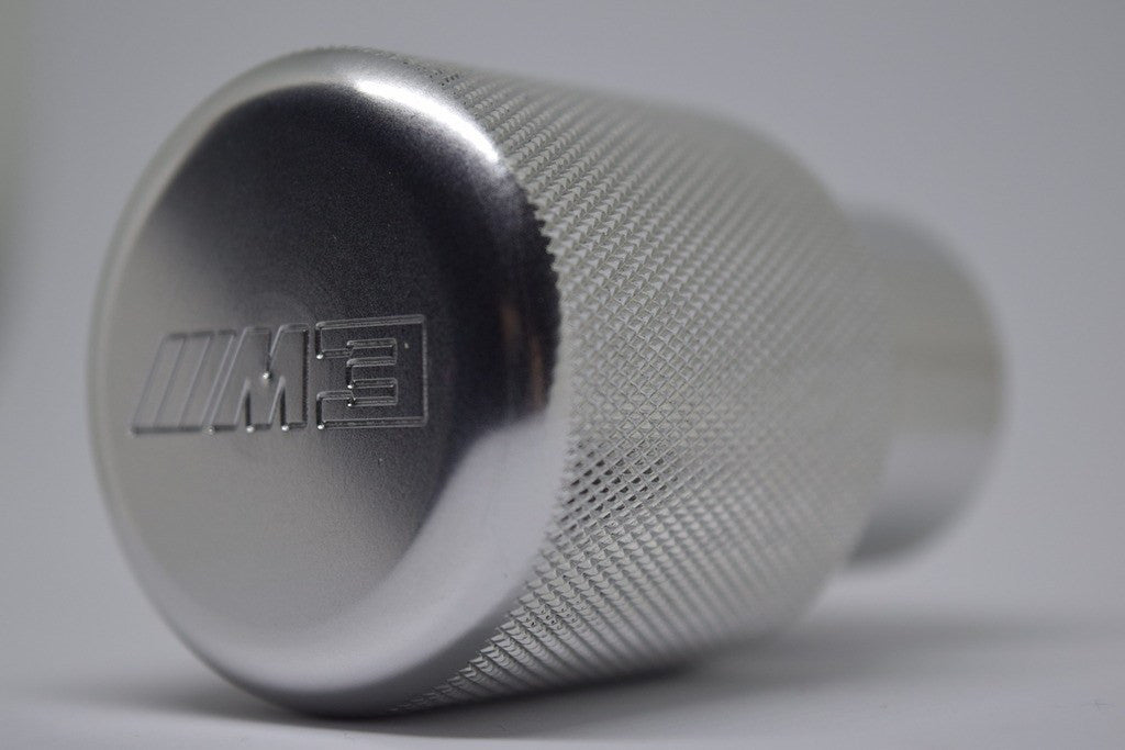Euro Impulse Weighted Billet Shift Knob Silver Quot M3