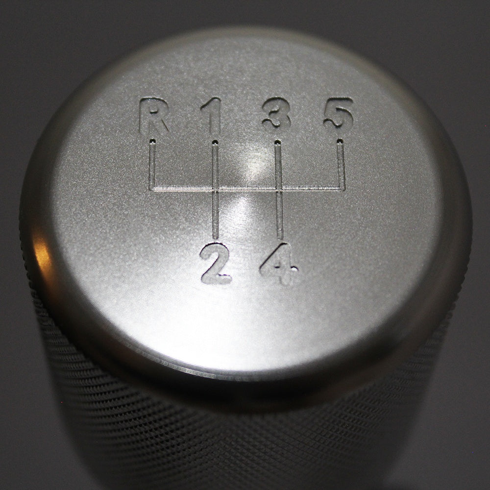 "BMW SHIFT KNOB - WEIGHTED BILLET SHIFT KNOB - SILVER - (""5-SPD"")"