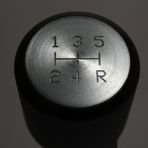 Shift Knobs - WEIGHTED BILLET SHIFT KNOB - BLACK - (5-SPD)