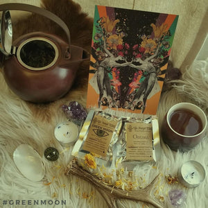 Cannabis Inspired Tea with Green Moon Apothecary