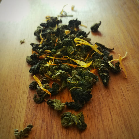 Green Moon tea