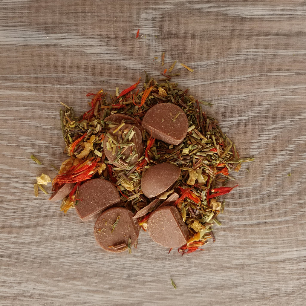 Chocolate Orange Loose Leaf Green Rooibos Tea