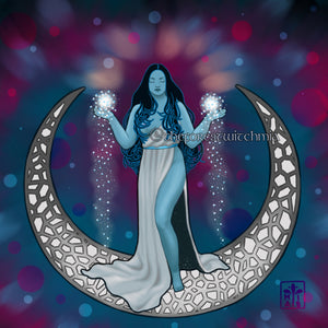 Silver Moon Magic - Art Print