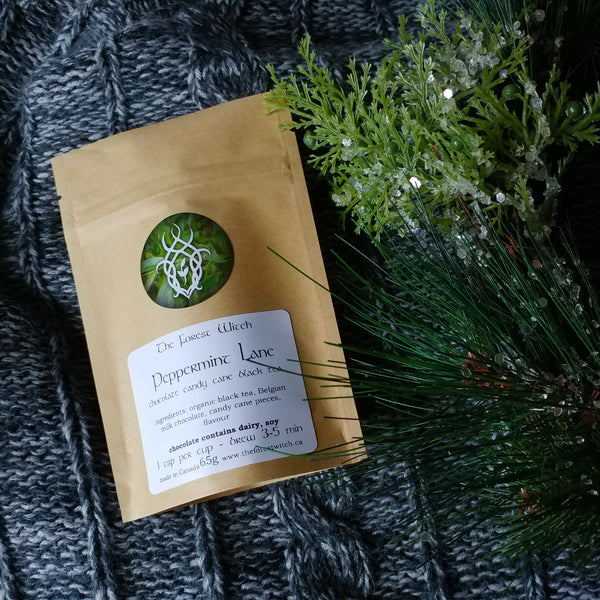 Peppermint Lane Loose Leaf Black Tea