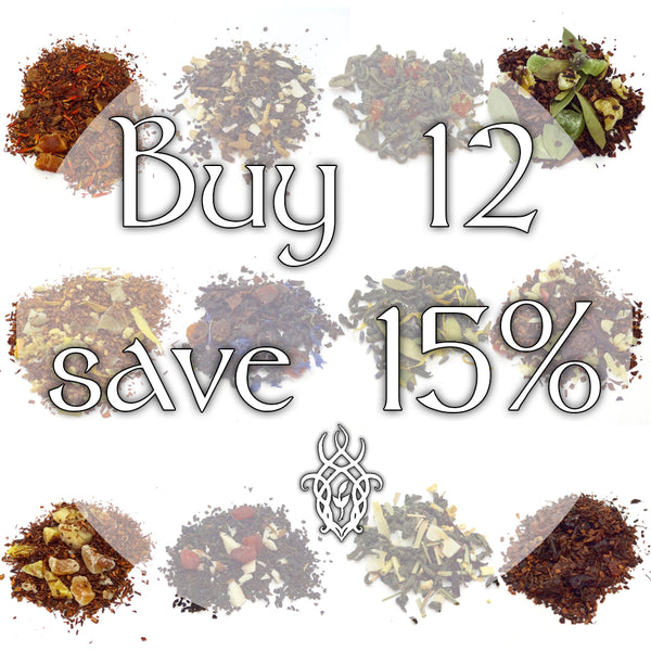 Buy 12 Teas Save 15%