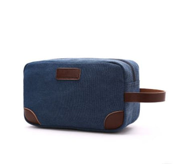 2019 Canvas Bag Toiletry Organizer Shaving Dopp Kit Travel Cosmetic Makeup Men Handbag Casual Zipper Wash Cases Women