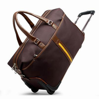 Oxford Waterproof Fabric Handbag / Duffel Travel Trolley luggage