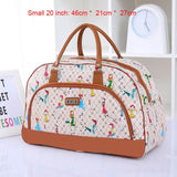 Women Travel 2020 Fashion PU Leather Large Capacity Waterproof Weekend Bags