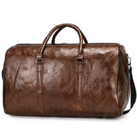 New Arrival Leather Travel Luxury Men Large Capacity Portable Male Shoulder Bags