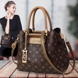 Ladies Handbag Boston Timis Li Casual Shoulder Bags Female Cross Body Bag High Quality Pu Leather Top Handle Bags for Women