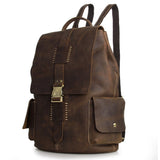 New arrival Classic vintage high-end genuine leather Travel Backpacks