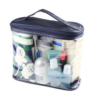 Travel Transparent Waterproof Toiletry Kit Large Capacity Pouch
