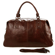 High-Class Genuine Leather Travel Duffel bag