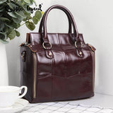 Multifunction Large Soft Handbag Genuine Leather Shoulder Crossbody Bag for Women 2019 Ladies Luxury Tote