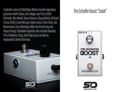 The Schaffer Boost - SoloX [Limited Edition Gloss White]