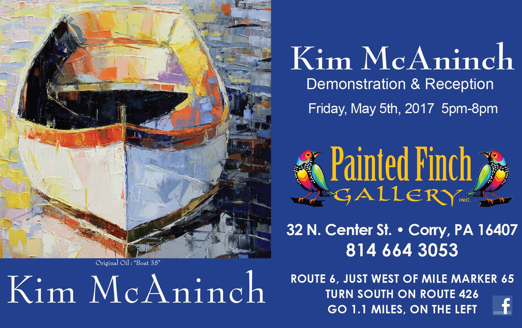 Kim McAninch Live Demonstration May 5th!