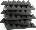 "Acoustic Pyramid Foam 3"" (Various Colors & Quantities)"
